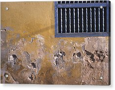 Cuban Wall And Window Acrylic Print
