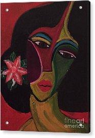 Cubanita Acrylic Print