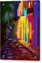 Cubano Street Acrylic Print