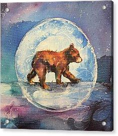 Cubbie Bear Acrylic Print