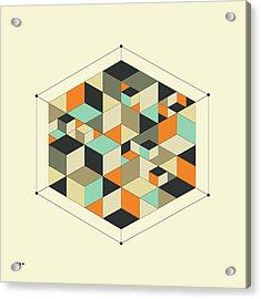 Cube 1 Acrylic Print