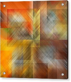 Acrylic Print featuring the photograph Cubic Space by Mark Greenberg