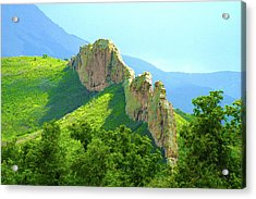 Acrylic Print featuring the photograph Cuchara Ridge by Marie Leslie