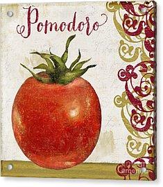 Cucina Italiana Tomato Pomodoro Acrylic Print
