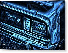 'cuda By Plymouth Acrylic Print by Gordon Dean II