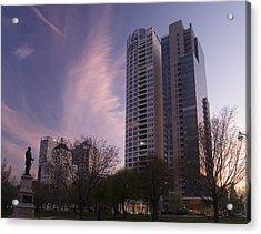 Cudahy Towers Acrylic Print