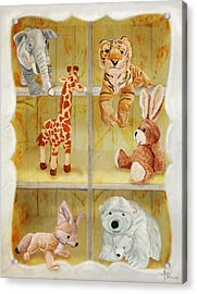 Cuddly Clubhouse Acrylic Print