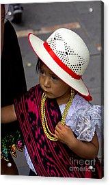 Cuenca Kids 714 Acrylic Print