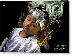 Cuenca Kids 781 Acrylic Print by Al Bourassa