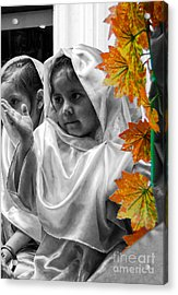 Acrylic Print featuring the photograph Cuenca Kids 885 by Al Bourassa
