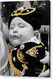 Cuenca Kids 891 Acrylic Print by Al Bourassa