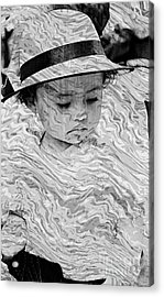 Acrylic Print featuring the photograph Cuenca Kids 894 by Al Bourassa