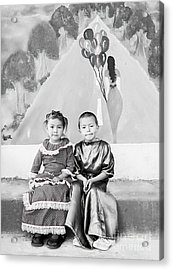 Acrylic Print featuring the photograph Cuenca Kids 896 by Al Bourassa