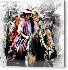 Cuenca Kids 946 Acrylic Print