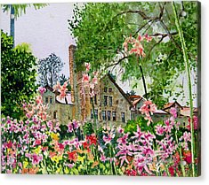 Culinary Institute At Greystone Acrylic Print by Gail Chandler