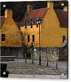 Acrylic Print featuring the photograph Culross by Jeremy Lavender Photography