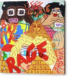 Culture Vultures Acrylic Print