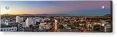 Culver City At Dusk Acrylic Print