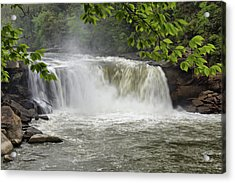 Cumberland Falls Close-up Acrylic Print