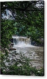 Cumberland Falls Acrylic Print by Joann Copeland-Paul