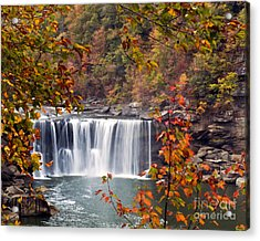 Acrylic Print featuring the photograph Cumberland Falls Two by Ken Frischkorn
