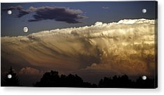 Cumulonimbus At Sunset Acrylic Print
