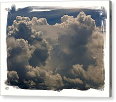 Cumulonimbus Acrylic Print by Priscilla Richardson