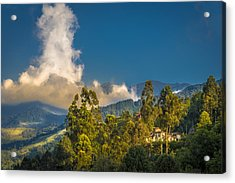 Giant Over The Mountains Acrylic Print