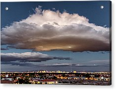 Acrylic Print featuring the photograph Cumulus Las Vegas by Michael Rogers