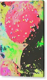 Cup Cake Birthday Splash Acrylic Print by Jorgo Photography - Wall Art Gallery