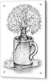 Cup-o-tree Acrylic Print