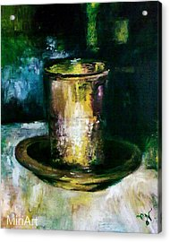 Cup Of Blessing Acrylic Print