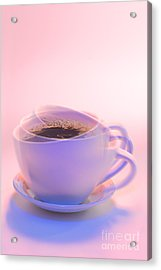 Cup Of Coffee Acrylic Print by George Robinson