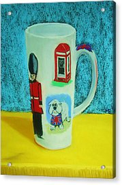 Cup Of London Java Acrylic Print