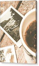 Cup Of Nostalgia Acrylic Print