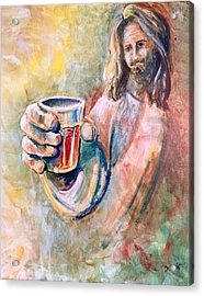 Cup Of Salvation Acrylic Print