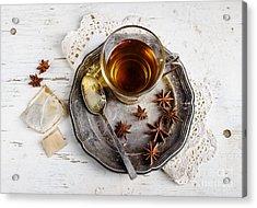 Cup Of Tea Acrylic Print by Jelena Jovanovic