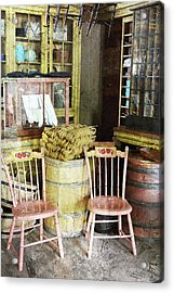 Cupboards Full Of Poetry Acrylic Print