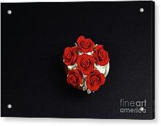 Cupcake Acrylic Print by Afrodita Ellerman