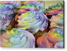 Cupcake Chaos Acrylic Print by JAMART Photography