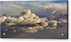 Cupcake In The Cloud Acrylic Print by Bill Kesler
