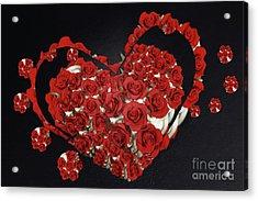 Cupcake Love Acrylic Print by Afrodita Ellerman