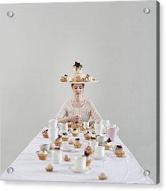 Cupcakes Acrylic Print by Dasha Pears