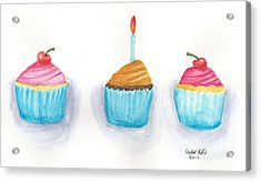 Cupcakes?  Acrylic Print by Isabel Proffit