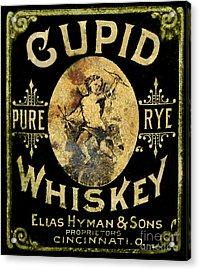 Cupid Whiskey Acrylic Print