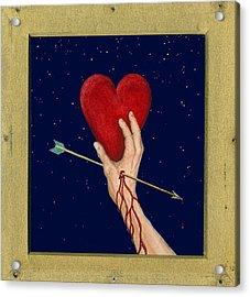 Cupids Arrow Acrylic Print by Charles Harden
