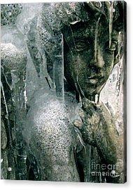 Cupid's Psyche Awaiting Zephyrus Acrylic Print by Misha Bean