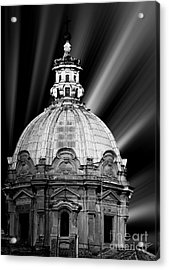 Cupola In Rome Acrylic Print by Stefano Senise