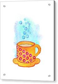 Cuppa Series - Latte Acrylic Print
