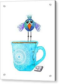 Cuppa Series - Tea Taster Acrylic Print